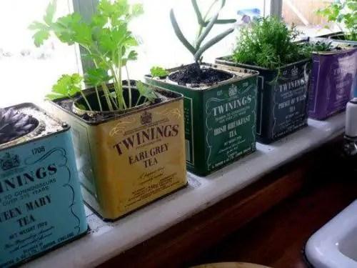 te - reciclar latas de té