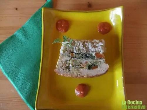 terrina arroz - terrina arroz integral y verduritas
