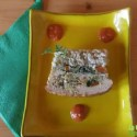 terrina arroz - Receta de terrina de arroz integral y verduritas