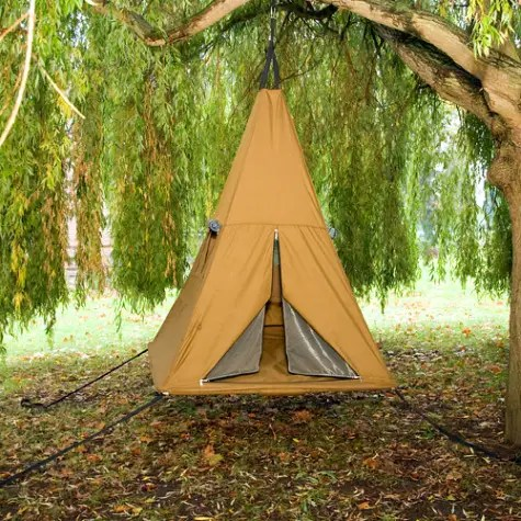 tree pee camping tent - tree-pee