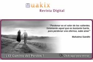 uakix10 - EL CAMINO DEL PERDÓN: revista online Uakix junio 2011 con entrevista en vídeo a Jorge Lomar