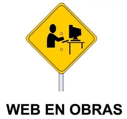 web en obras -