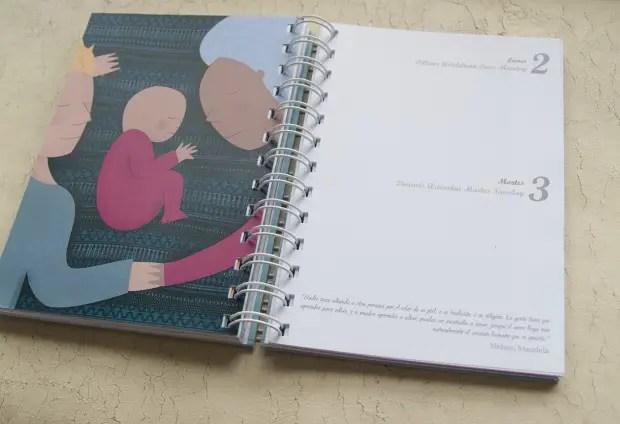 agenda crianza 2013 interior - Agenda de la maternidad y crianza con apego 2013