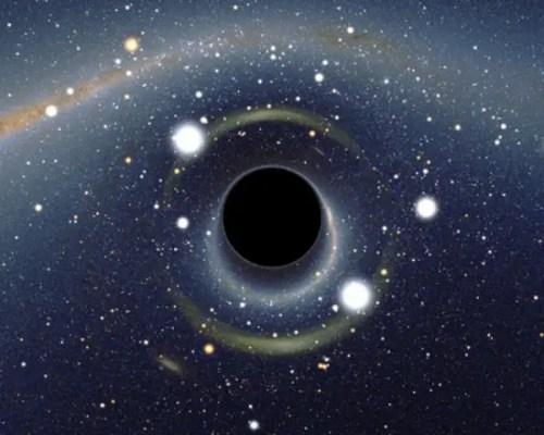 agujero negro centro galaxia - agujero-negro-centro-galaxia