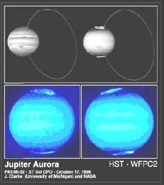 aurora jupiter - LA TIERRA HUECA: aperturas solares, dos nuevos continentes y civilización intraterrena