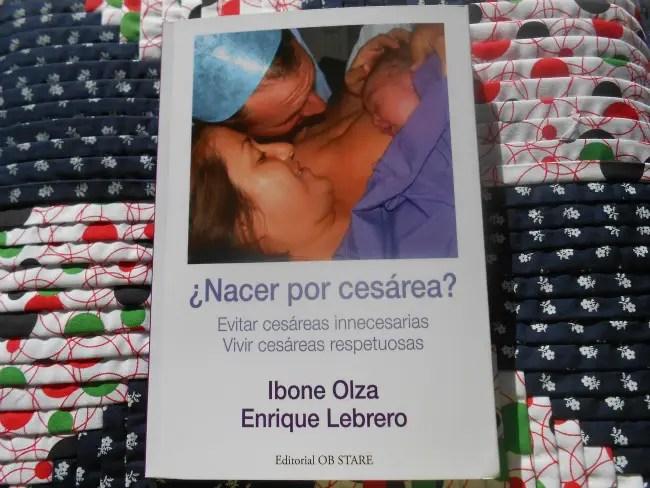 """nacer por cesarea - SORTEO de 5 ejemplares del libro """"¿Nacer por cesárea?"""" firmados por los autores"""