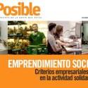 numero31 - EMPRENDIMIENTO SOCIAL: criterios empresariales en la actividad social. revista online esPosible nº 31