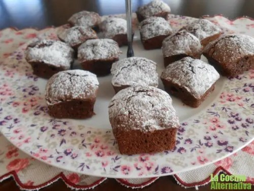 brownies de espelta y chocolate - brownies de espelta y chocolate