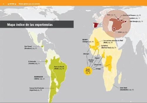 mapa - mapa economia solidaria