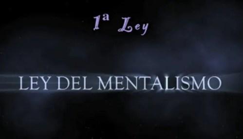 ley mentalismo - ley mentalismo