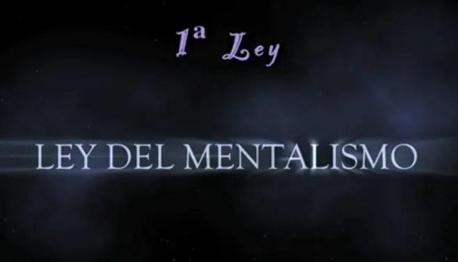 ley mentalismo