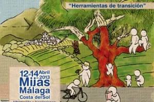 Cartel Encuentro Mijas 01 - Iniciativas de TRANSICIÓN en Málaga: 2º encuentro anual