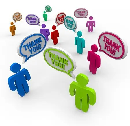Dar las gracias a todos - Thank You - Appreciative People Thanking Each Other
