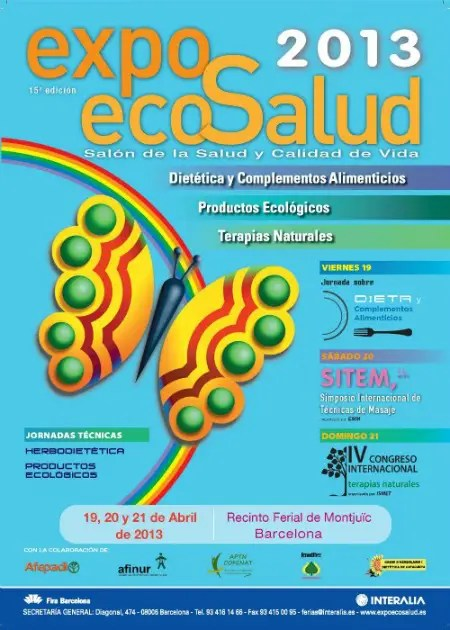 Exposalud2013 A4ok1 - ExpoEcosalud 2013 en Barcelona