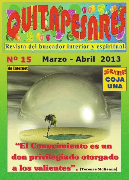 Q - Quitapesares nº 15: revista online del buscador interior y espiritual