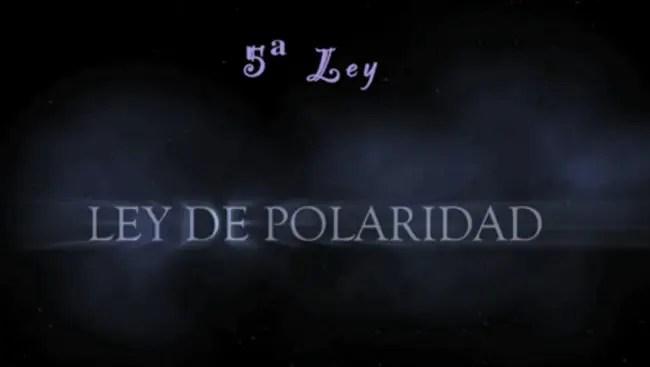 ley polaridad