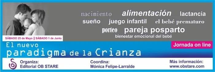 """baner1 blog jornadas1 - Jornada online """"El nuevo paradigma de la crianza"""""""