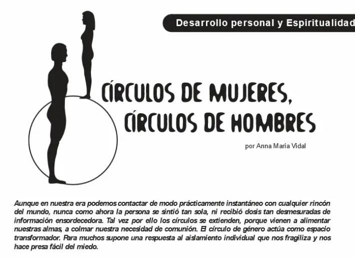 circulos - Círculos de mujeres, círculos de hombres