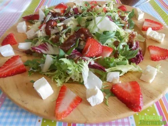 ensalada - Espárragos frescos con mayonesa de pera y avellanas y 4 recetas más en La Cocina Alternativa