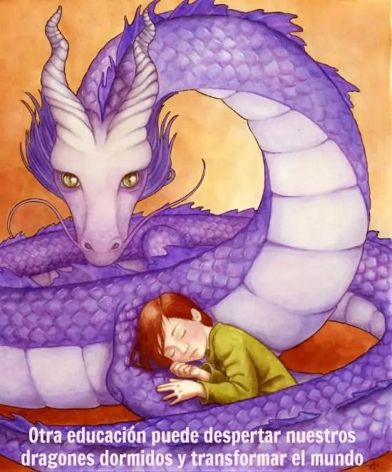 dragon - Las ESCUELAS LIBRES existen, aumentan y revolucionan el mundo. Vídeo-entrevista a Cristina Romero-Miralles