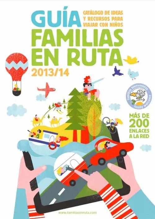guía familias en ruta