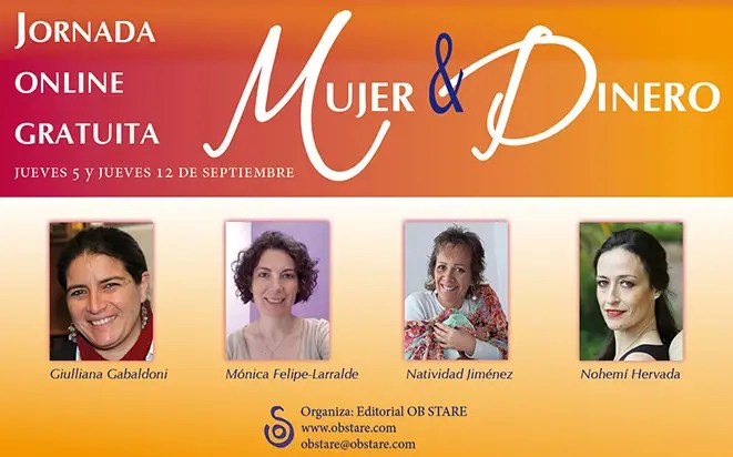 Mujer y Dineromailing - Jornada online gratuita MUJER & DINERO