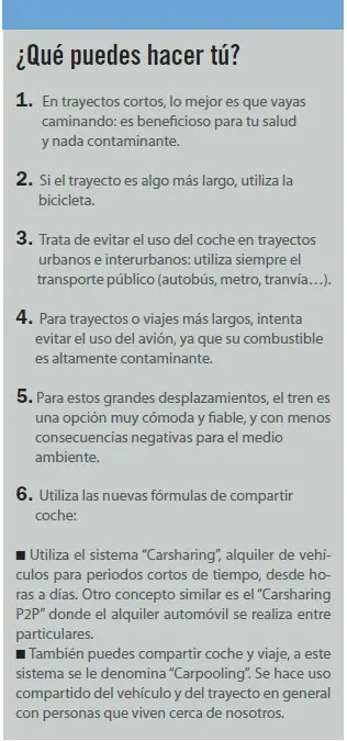 que puedes hacer tu - SIN MALOS HUMOS: peatonalización, bicileta y transporte público. Revista online esPosible nº 37