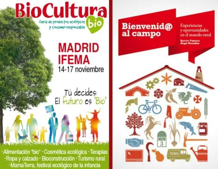 Presentacion del libro Bienvenido al campo en Biocultura Madrid