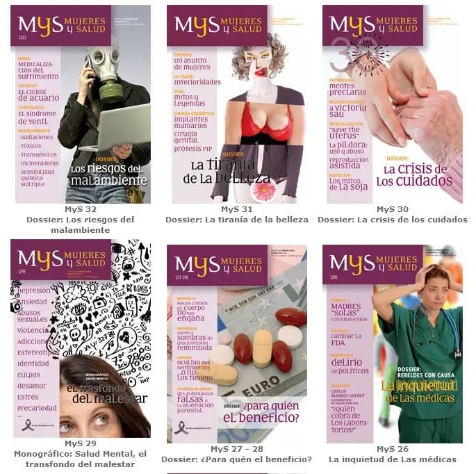 revista mujeres y salud - SER MUJER NO ES UNA ENFERMEDAD: ¿Por qué patologiza la medicina el cuerpo femenino? Dra Carme Valls Llobet