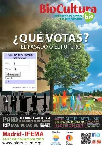 Ganadores sorteo en EBA -Biocultura-Madrid-2013