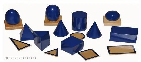Montessori Vivo - Materiales