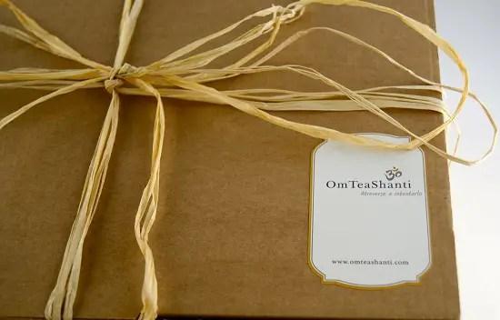 Sorteo 3 - Sorteo de 3 sets de juego de té y tés orgánicos de OmTeaShanti (para España)