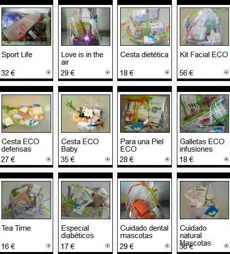 ECO Cestas de todoBIOnatural - Regala ecología y salud con las Eco-Cestas de todoBIOnatural.com
