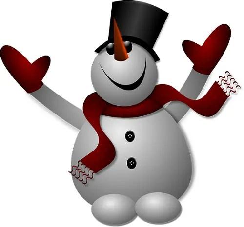 Muñeco de nieve - Fiestas navideñas más ecológicas. Los viernes de Ecología Cotidiana