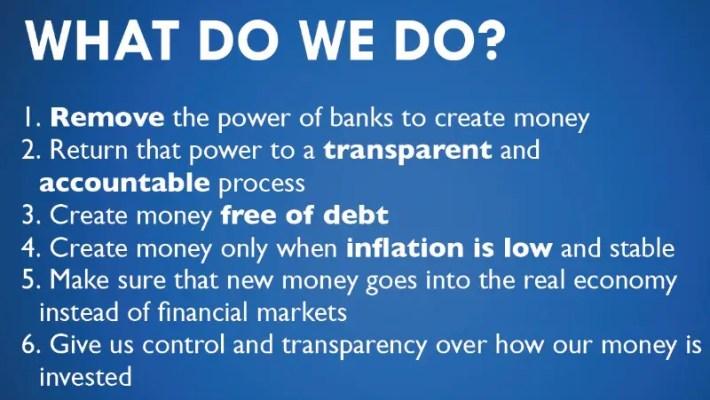 positive money - 3 pasos para REFUNDAR el sistema económico y cambiar el mundo