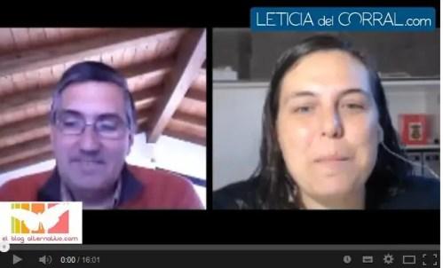 Entrevista de Leticia del Corral - Entrevista de Leticia del Corral