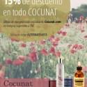 post Blog Alternativo Mayo - Esta semana disfruta de un descuento del 15% en todo COCUNAT, tu tienda de cosmética saludable
