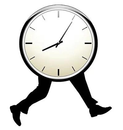 tiempo y prisas