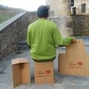 Taburete cartón - Taburete de cartón. Los viernes de Ecología Cotidiana