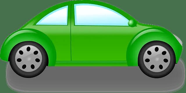coche verde - Cómo viajar por ciudad sin contaminar