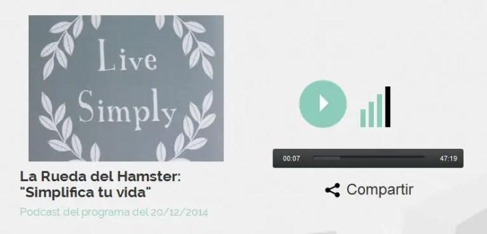 simple - VIVE SIMPLE: audio-entrevista a Angel González