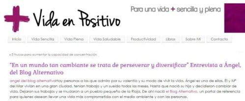 vida positivo - vida positivo