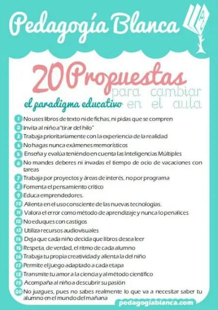 20 propuestas - 20 propuestas