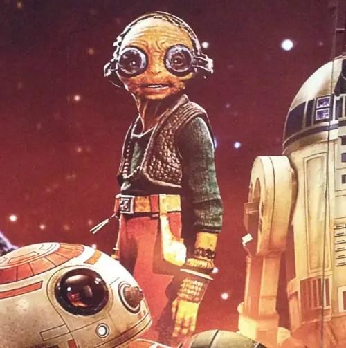 Mazkanatax - Star Wars: El Despertar de la Nueva Fuerza