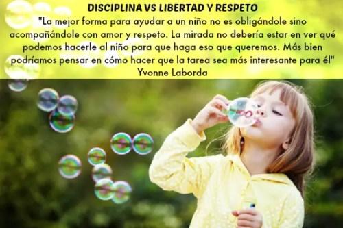 DISCIPLINA - Child starting soap bubbles