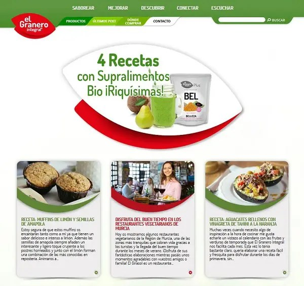 El Granero Integral - El Granero Integral, empresa referente en productos ecológicos y sostenibles