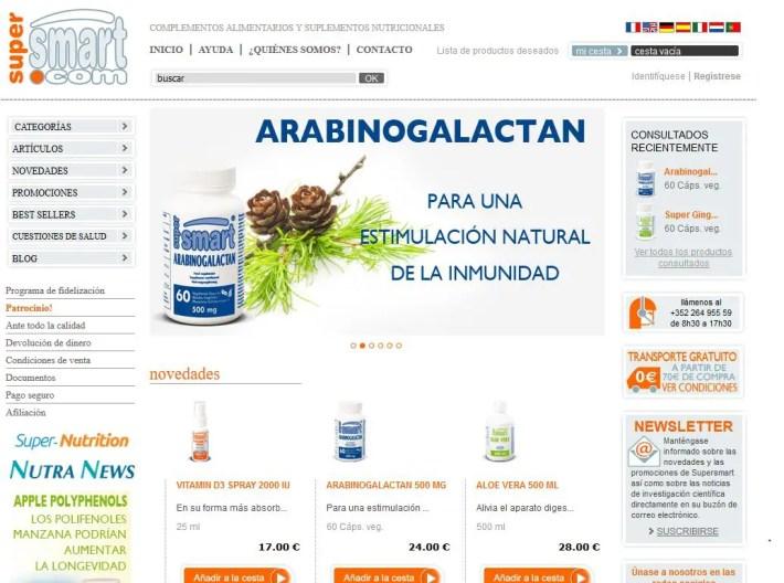 Supersmart - Supersmart.com: complementos alimentarios y suplementos nutricionales