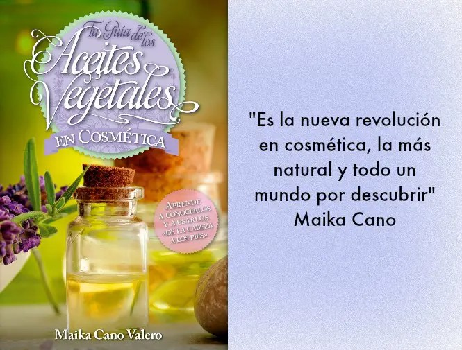aceites vegetales en cosmética