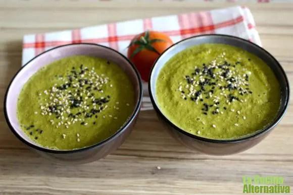 gazpacho de kale - 5 consejos para recuperar la vitalidad