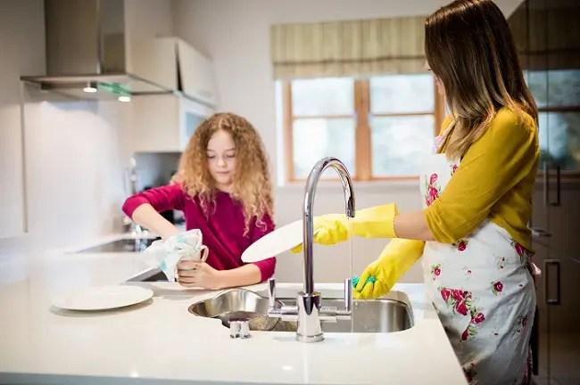 enseñar hábitos de limpieza a los niños